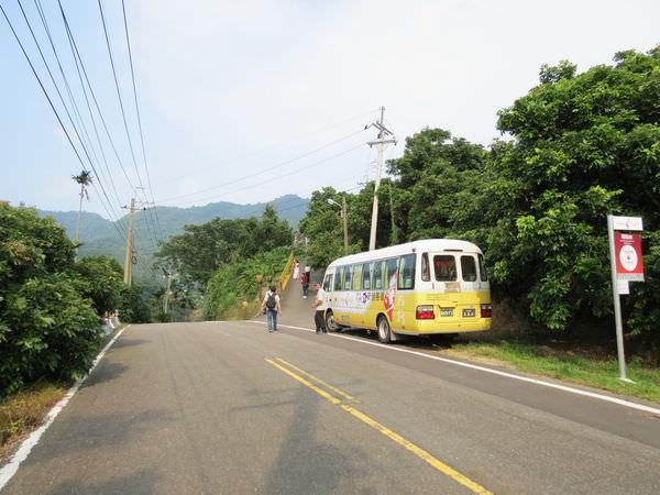 大鋤花間咖啡生態農場, 台灣好行-關子嶺烏山頭線交通車站牌