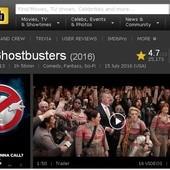 Movie, Ghostbusters(美) / 魔鬼剋星(台) / 超能敢死队(中) / 捉鬼敢死隊3(港), 評分網站, IMDb