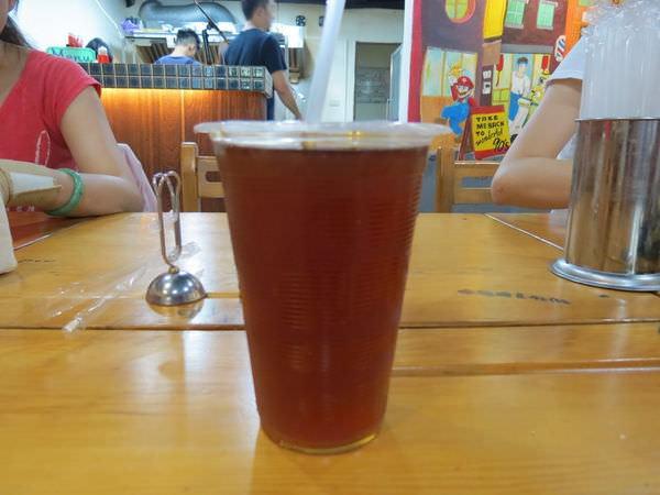 高三孝碳烤吐司@內湖江南店, 餐點, 古早味紅茶