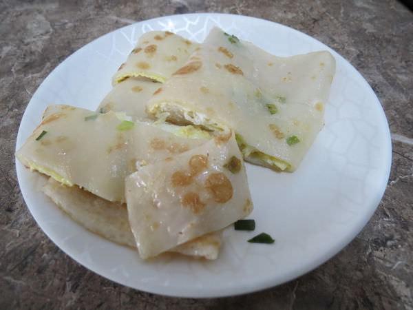 河南水煎包, 蔥香軟餅+蛋(蛋餅)
