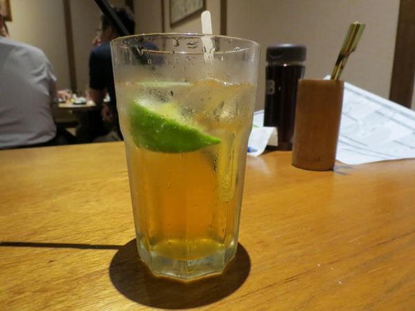 照島再生酒場, 餐點, 梅汁蘋果醋