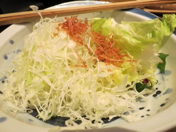 伊勢路-勝勢日式豬排@微風松高店, 餐點, 高麗菜