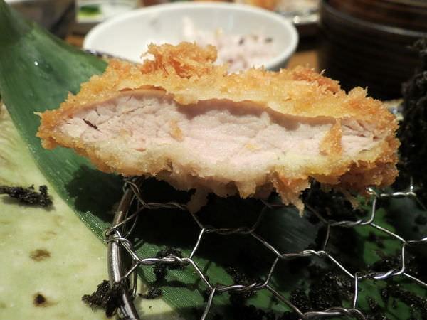 伊勢路-勝勢日式豬排@微風松高店, 餐點, 腰內豬排套餐(腰內豬排)