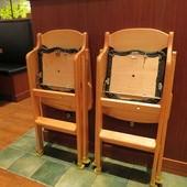 伊勢路-勝勢日式豬排@微風松高店, 兒童座椅