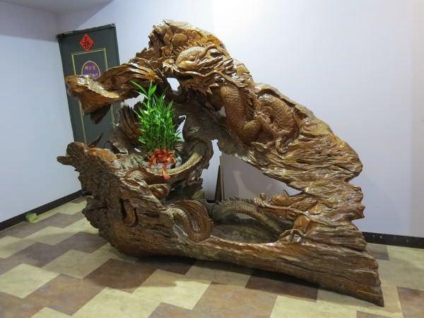 萬代福影城, 3F, 木雕屏風