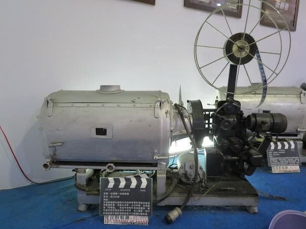 萬代福影城, 3F, 台灣第一台放映機B