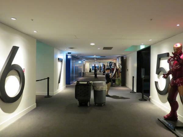 台中新光影城, 13F, 影廳入口