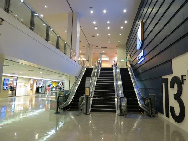 台中新光影城, 13F, 往14F手扶梯