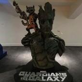 Movie, Guardians of the Galaxy(美)/星際異攻隊(台)/银河护卫队(中)/銀河守護隊(港), 廣告看板, 模型, 台中新光影城