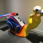 Movie, Turbo(美) / 漩渦方程式(台) / 极速蜗牛(中) / 極速Turbo(港), 廣告看板, 模型, 台中新光影城