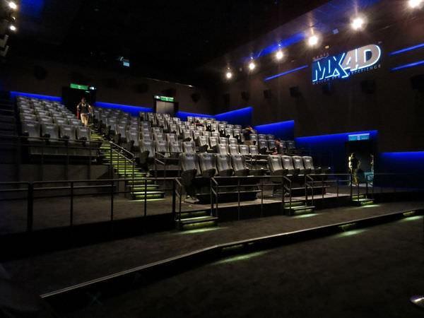 台中新光影城, 電影廳, 3廳(MX4D)