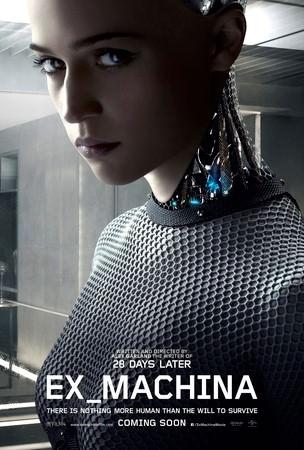 Movie, Ex Machina(英) / 人造意識 & 機械姬(台) / 虛擬智能 & 智能叛侶(港), 電影海報
