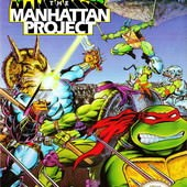 Game, 忍者龜3 /Teenage Mutant Ninja Turtles III : The Manhattan Project, 封面