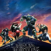 Movie, Teenage Mutant Ninja Turtles 2(美) / 忍者龜:破影而出(台) / 忍者神龟2:破影而出(中) / 忍者龜:魅影突擊(港), 電影海報, 美國, 前導