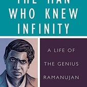 Biography, The Man Who Knew Infinity: A Life of the Genius Ramanujan, 封面