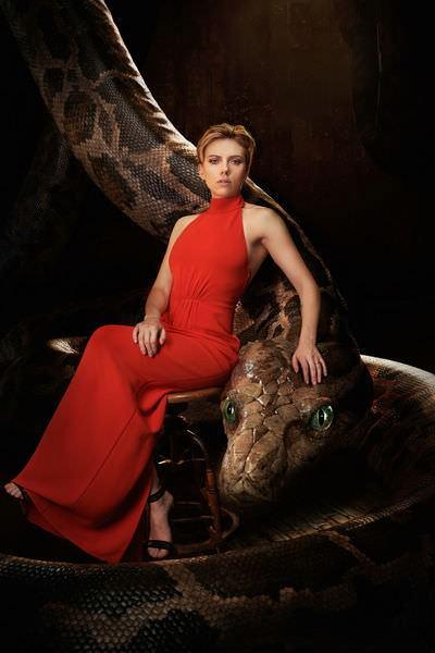 Movie, The Jungle Book(美) / 與森林共舞(台) / 奇幻森林(中), 電影海報, 角色與配音