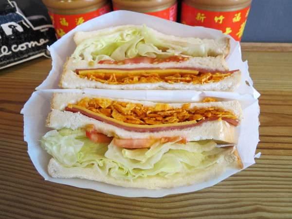 小南港-懶人私廚, 火腿脆脆吐司