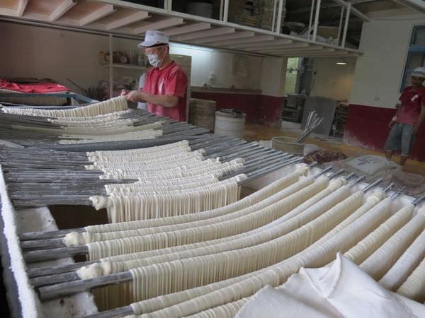 石碇許家手工麵線, 體驗麵線製作過程