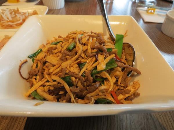 紅豆小館@南港店, 餐點, 紅干絲牛肉絲