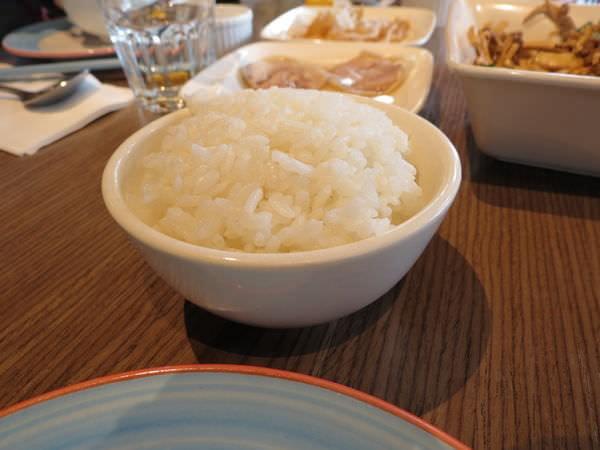 紅豆小館@南港店, 餐點, 白飯