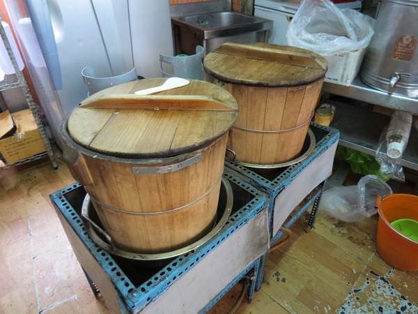 超2代傳香飯糰, 蒸飯糰木桶