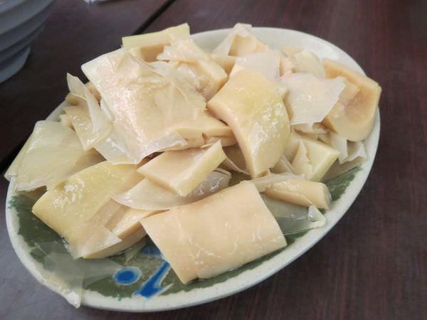 王水成深坑廟口豆腐老店, 滷桂竹筍(小)