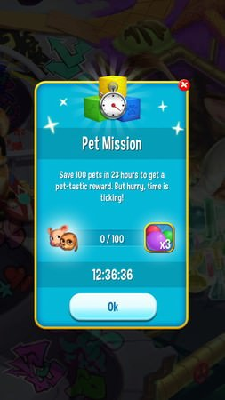 Pet Rescue Saga, Pet Mission(寵物任務)