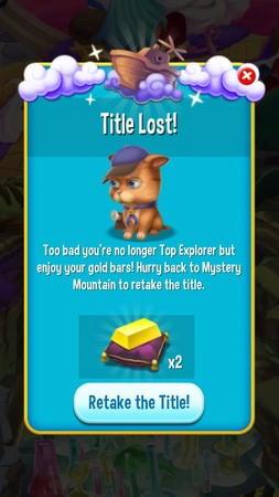 Pet Rescue Saga, Mystery Mountain
