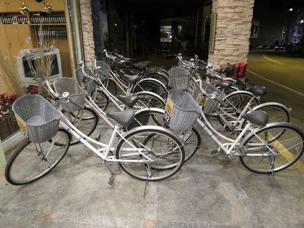 美嘉美大飯店, 腳踏車租借
