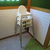 azuki café@南港店, 兒童座椅