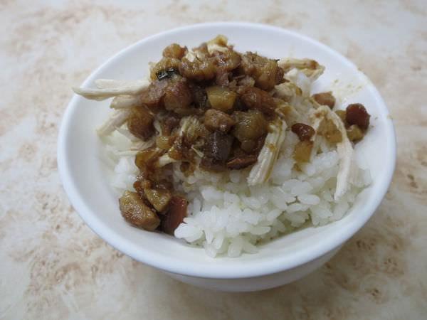廖嬌米粉湯, 雞魯飯(小)
