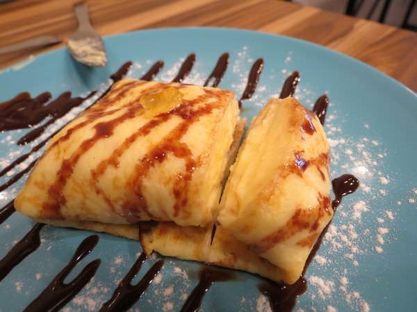 幸福2號咖啡館, 法式薄餅佐卡士達醬