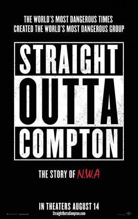 Movie, Straight Outta Compton / 衝出康普頓, 電影海報