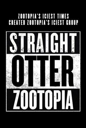 Movie, Zootopia(美) / 動物方城市(台) / 疯狂动物城 (中)/ 優獸大都會(港), KUSO海報