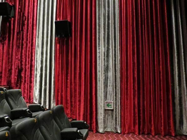 嘉義秀泰影城, 電影廳, 裝潢