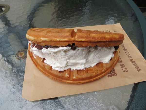 迪迪美式鬆餅@羅東店, 鬆餅, 鮮奶油巧克力