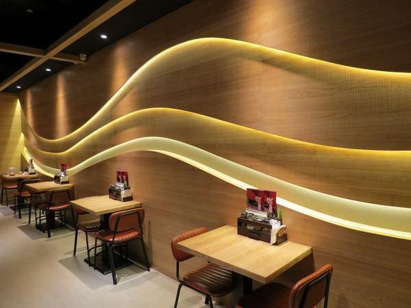 樂麵屋@站前店, 用餐空間, 裝潢, B1F