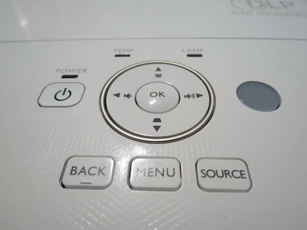 BenQ W2000 側投導演機