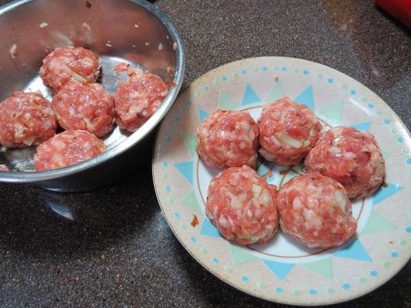 牛頭牌紅蔥醬, 開運團圓年菜, 香蔥燒肉丸10