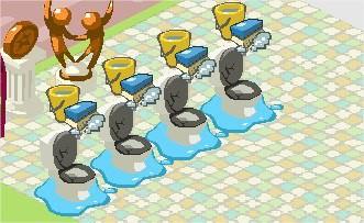 Restaurant City 2016, 廁所