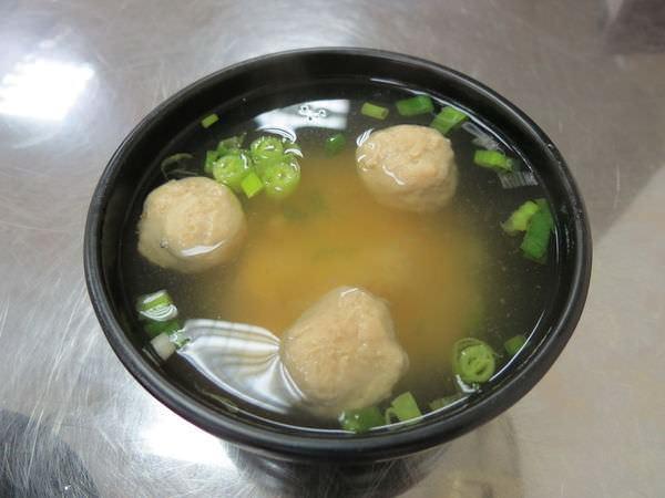 葉家涼麵, 味噌貢丸湯