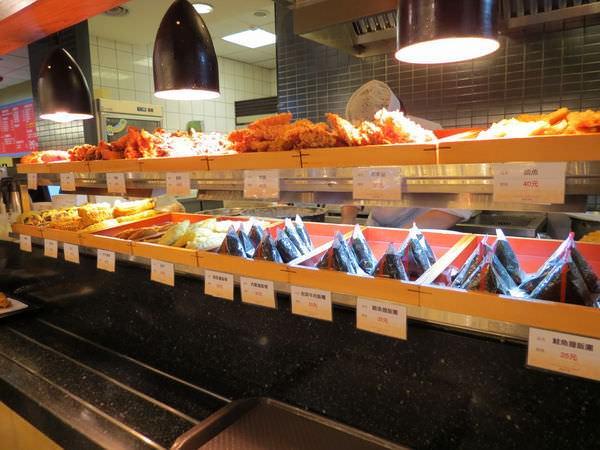 湯布院本川製麵所@微風廣場, 餐點, 飯糰&炸物