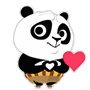 Facebook, 貼圖商店, 功夫熊貓