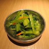 豆腐村@南港店, 餐點, 青江菜