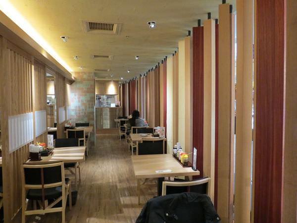 靜岡勝政日式豬排@美麗華店, 用餐環境
