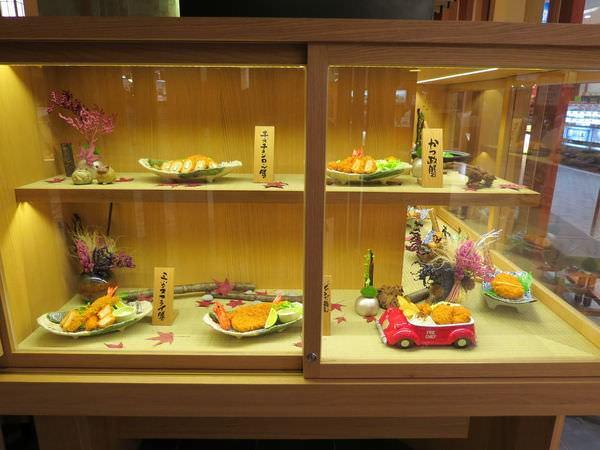 靜岡勝政日式豬排@美麗華店, 食物模型