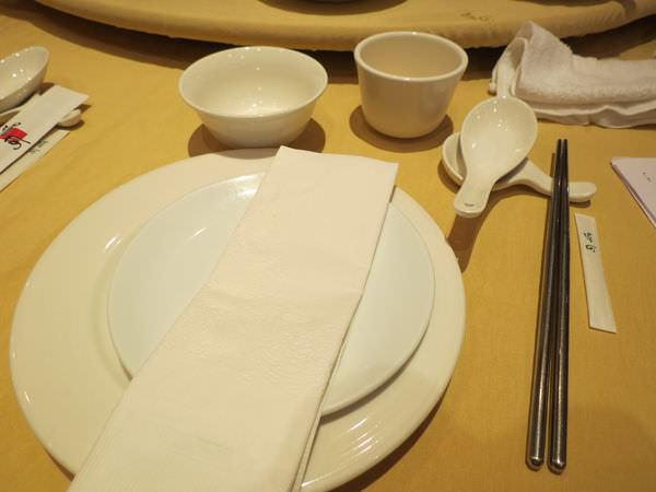 湄河餐廳, 餐具
