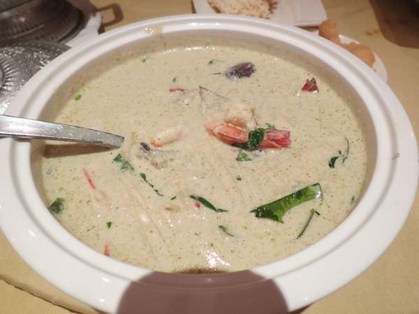 湄河餐廳, 餐點, 南薑海鮮湯