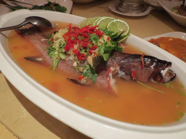 湄河餐廳, 清蒸檸檬紅斑