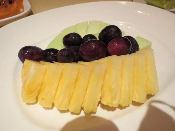 湄河餐廳, 餐點, 水果